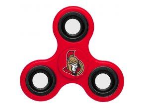 Fidget Spinner Ottawa Senators 3-Way