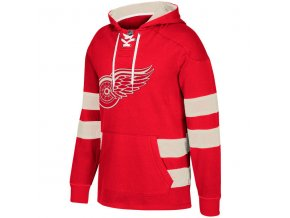 Mikina Detroit Red Wings 2017 CCM Jersey Pullover Hoodie Red
