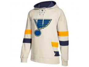 Mikina St. Louis Blues 2017 CCM Jersey Pullover Hoodie White