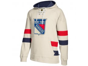 Mikina New York Rangers 2017 CCM Jersey Pullover Hoodie White