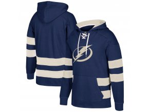 Mikina Tampa Bay Lightning 2017 CCM Jersey Pullover Hoodie Blue