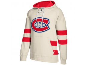 Mikina Montreal Canadiens 2017 CCM Jersey Pullover Hoodie White