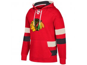 Mikina Chicago Blackhawks 2017 CCM Jersey Pullover Hoodie Red