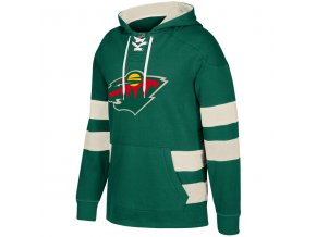Mikina Minnesota Wild 2017 CCM Jersey Pullover Hoodie Green