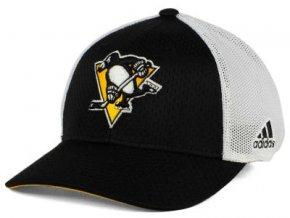 Kšiltovka Pittsburgh Penguins Mesh Flex Cap