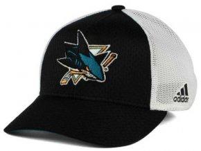 Kšiltovka San Jose Sharks Mesh Flex Cap