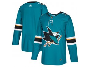 Dres San Jose Sharks adizero Home Authentic Pro