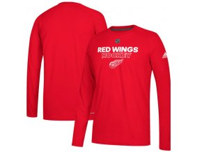 Tričko Detroit Red Wings Authentic Ice Climalite Ultimate L/S