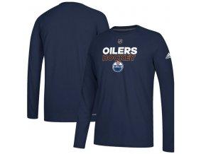 Tričko Edmonton Oilers Authentic Ice Climalite Ultimate L/S