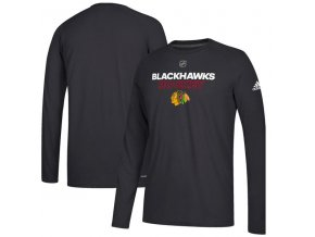 Tričko Chicago Blackhawks Authentic Ice Climalite Ultimate L/S