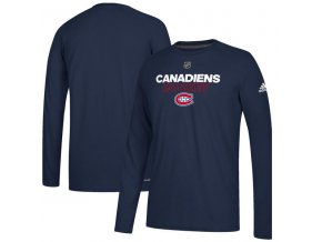 Tričko Montreal Canadiens Authentic Ice Climalite Ultimate L/S