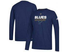 Tričko St. Louis Blues Authentic Ice Climalite Ultimate L/S