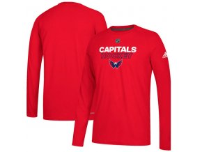 Tričko Washington Capitals Authentic Ice Climalite Ultimate L/S