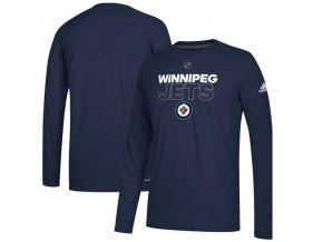Tričko Winnipeg Jets Authentic Ice Climalite Ultimate L/S