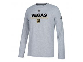 Tričko Vegas Golden Knights Authentic Ice Climalite Ultimate L/S