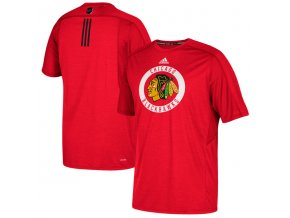 Tričko Chicago Blackhawks Authentic Training Climalite