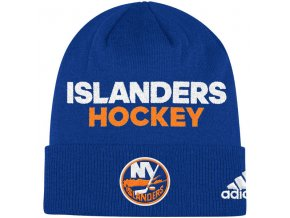 Zimní Čepice New York Islanders Locker Room 2017
