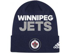 Zimní Čepice Winnipeg Jets Locker Room 2017