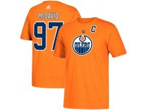 Tričko #97 Connor McDavid Edmonton Oilers