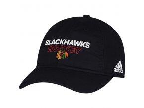 Kšiltovka Chicago Blackhawks On-Ice Adjustable