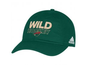 Kšiltovka Minnesota Wild On-Ice Adjustable