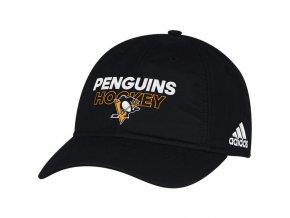 Kšiltovka Pittsburgh Penguins On-Ice Adjustable