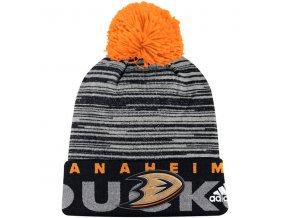 Zimní Čepice Anaheim Ducks On-Ice Cuffed Pom