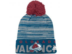 Kulich Colorado Avalanche Off Ice Cuffed Pom Knit