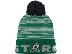 Kulich Dallas Stars Off Ice Cuffed Pom Knit