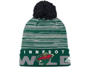Kulich Minnesota Wild Off Ice Cuffed Pom Knit
