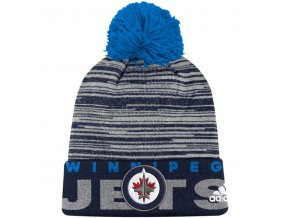 Kulich Winnipeg Jets Off Ice Cuffed Pom Knit