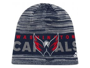 Zimní Čepice Washington Capitals On-Ice Knit Hat
