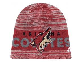 Zimní Čepice Arizona Coyotes On-Ice Knit Hat