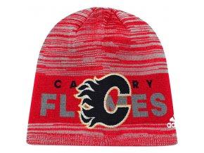 Zimní Čepice Calgary Flames On-Ice Knit Hat