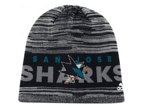 Zimní Čepice San Jose Sharks On-Ice Knit Hat