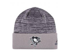 Zimní Čepice Pittsburgh Penguins Travel & Training Cuffed Knit