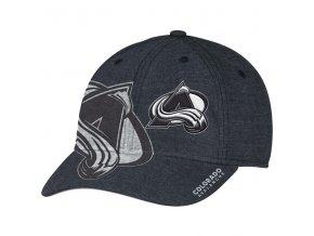 Kšiltovka Colorado Avalanche Travel & Training Flex Hat