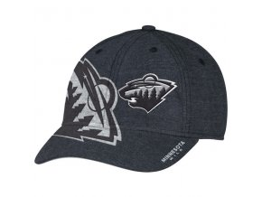 Kšiltovka Minnesota Wild Travel & Training Flex Hat