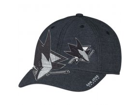 Kšiltovka San Jose Sharks Travel & Training Flex Hat