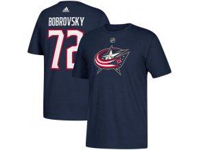 Tričko #72 Sergei Bobrovsky Columbus Blue Jackets