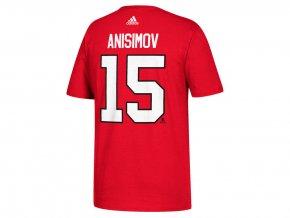 Tričko #15 Artem Anisimov Chicago Blackhawks