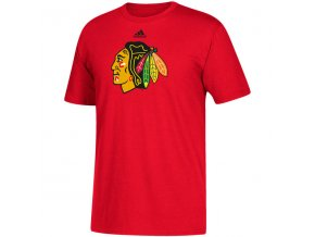 Tričko Chicago Blackhawks Adidas Primary Logo
