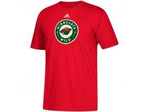 Tričko Minnesota Wild Adidas Primary Logo