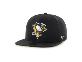 Kšiltovka Pittsburgh Penguins Sure Shot '47 Captain