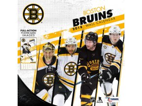 Kalendář Boston Bruins 2018 Team Wall