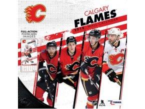 Kalendář Calgary Flames 2018 Team Wall