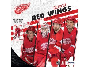 Kalendář Detroit Red Wings 2018 Team Wall