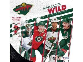 Kalendář Minnesota Wild 2018 Team Wall