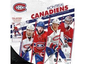 Kalendář Montreal Canadiens 2018 Team Wall