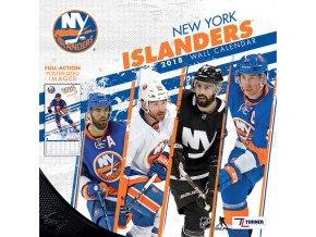 Kalendář New York Islanders 2018 Team Wall